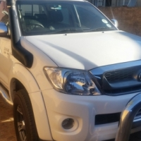 Nudge bar and set of nerf bars/side tubes for Toyota Hilux