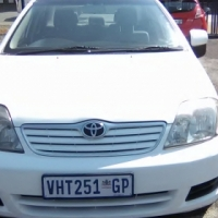 Toyota Corolla 180i sprinter, 5-Doors,2007 Model, Factory A/C, C/D Player, Central Locking, White in