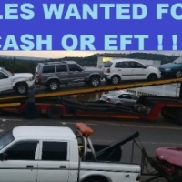 immediate cash paid for your unwanted cars and bakkies runners and non-runners