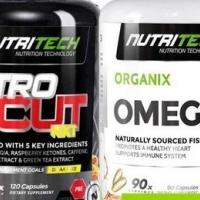 Nutritech nitrocut nxt - mens series + free omega