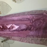 Bridesmaid dress with tie