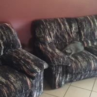 Black Gomma Gomma lounge suite for sale