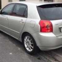 Toyota Runx Rsi 2005