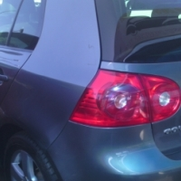Golf 5 2.0 Engine Capacity 5Doors, 2007 Model, Factory A/C, C/D Player, Central Locking, Grey in Col