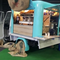 Mobile Coffee/Gelato/Ice Cream/Frozen Yogurt Tuk Tuk