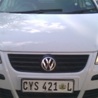 2009 Volkswagen Classic 1.6 Engine Capacity, 5Doors, Factory A/C, C/D Player, Central Locking, White
