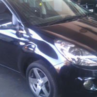 2012 Hyundai i20 Glide 5Doors, Factory A/C, C/D Player, Central Locking, Black in Color, 79000Km, Po