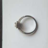 18ct (4gr) white gold ladies engagement ring., used for sale  Centurion