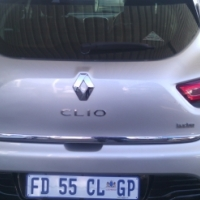 2014 Renault Clio Turbo Control Efficiency 5Doors, Factory A/C, C/D Player, Central Locking, Silver