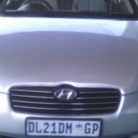 2011 Hyundai Accent 1.6 5Doors, Factory A/C, C/D Player, Central Locking,Silver  in Color, 136000Km,