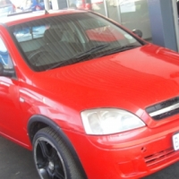Pre owned 2007 Opel Corsa 1.8  engine