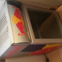 bar fridge red bull