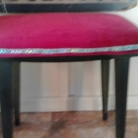 Antique Renstored  piano chair