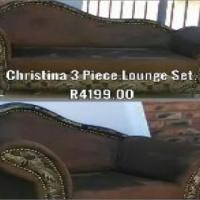 Christina 3 Piece Lounge suite