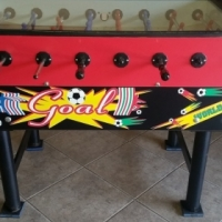 Original Sardi Italy foosball table to swop for 7f Venter or Camp master trailer