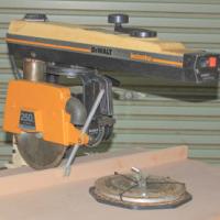 De Walt Electrostop radial arm saw