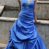Designer Blue Dress