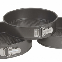 SPRING FORM TINS NON STICK 240mm/260mm/280mm
