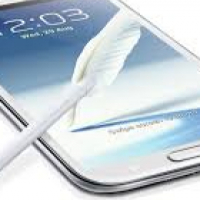 Samsung Note 2 with stylus