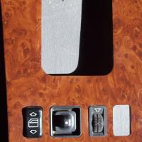 Dash wood panel  restoration and coating
