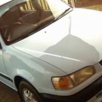 Toyota corolla blue accident free 98.model