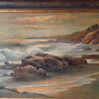 """Sunset Shore"" Painting"