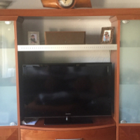 Itallian Imported Wall Unit - Rosewood vaneered