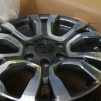Ford Ranger Wild Track New rims