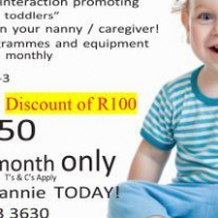 MONTHLY RENTAL OF EDUCATIONAL BOXES WITH TOYS AND PROGRAMME 0 - 3 YEARS old R 250