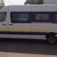 2014 VW Crafter 50 2.0 BITDI LWB 23 seat Candy White Bus
