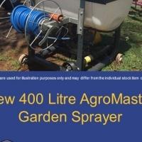 New 400 Liter Agromaster Garden Spray
