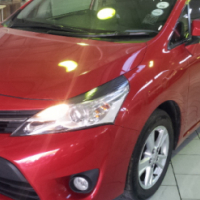 2013 Toyota Verso 1.6 SX Facelift 7 Seater, Red