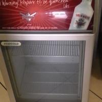 Smirnoff bar fridge