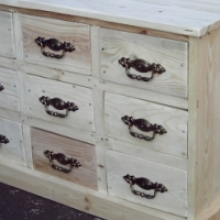 Self Decorating Multi Drawer Chest (930x495x600)
