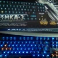 black hornet MKA-3 mechanical gaming keyboard