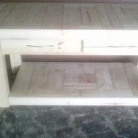 Kitchen Island Farmhouse series 1180 with 4 drawers Raw
