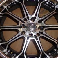 "17"" Lenzo Staggered Rim (Rare Wheel) 4x100 PCD"