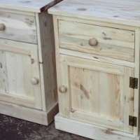 Set of Self Decorating Bedside Chests (435x425x590)