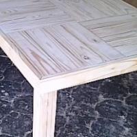 Patio table Farmhouse series 2100 Raw