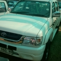 2004 Toyota Hilux  4x4 3.0D KZ-TE, D/C, Only 148000kms