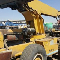 12t Mobile gallion crane jup go 19m fully hydraulic with  deetz 6 silender moter