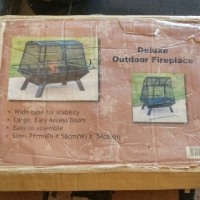 Outdoor Fireplace (easily-assembled) for SALE