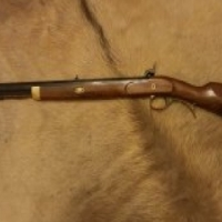 54 cal Lyman trade black powder rifle