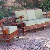 Devine Ball and Claw Emboia lounge suite for sale