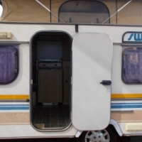 sprite swift with full tent and rally tent