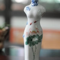 Porcelain Mini Vase