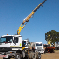 Mercedes Actros 3331 Crane truck for sale