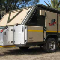 Conqueror Companion Offroad Caravan for Hire