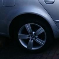 "Audi TT 17"" mags incl tyres 5x112"