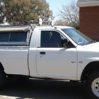 2006 Mitsibushi Trailbuster LWB single cab 4x4 camper conversion